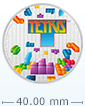 1 oz Silver Coin - Tetris 35th Anniversary .999